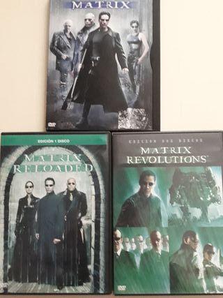 trilogía matrix dvd