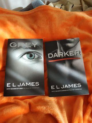 libros (inglés) - Grey y Darker, de EL.James