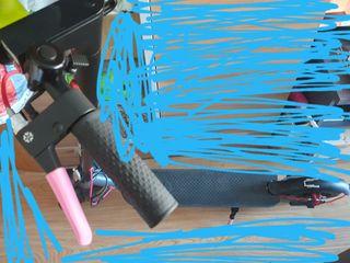 patin electrico está un poco usado