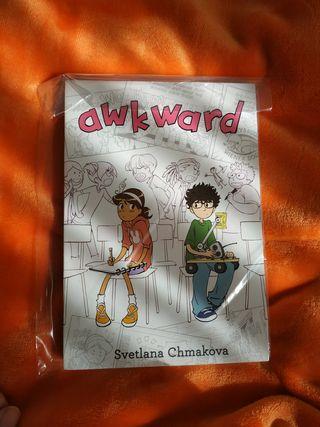 comic - Awkward, Svetlana Chmakova (inglés)