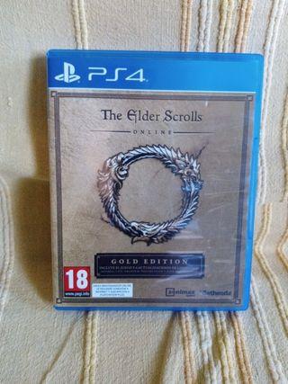 the elder scrolls. ps4