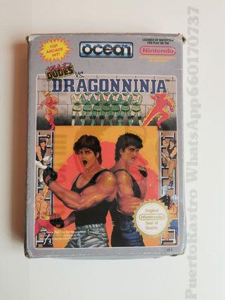 Juego DRAGON NINJA Nes Nintendo