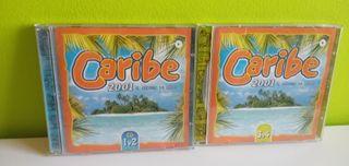 4 Cd's Recopilatorios Caribe 2001