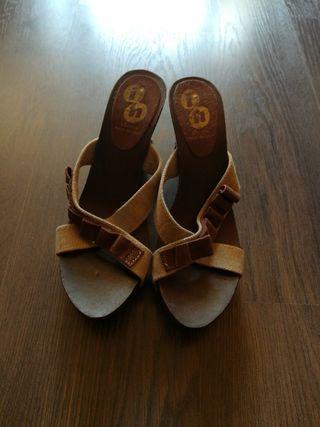 Sandalias de plataforma