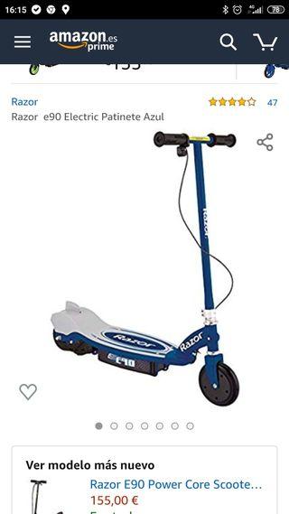 Patinete eléctrico Razor E90