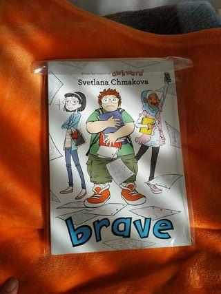 comic (inglés) - Brave, Svetlana Chmakova