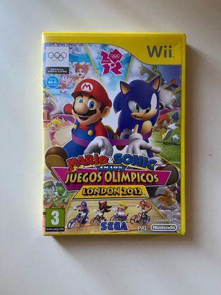 Juego Mario y Sonic en los Juegos Olímpicos