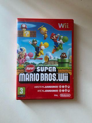 Juego New Súper Mario Bros Wii