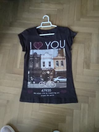 Camiseta Algodón ,nueva ,talla XS