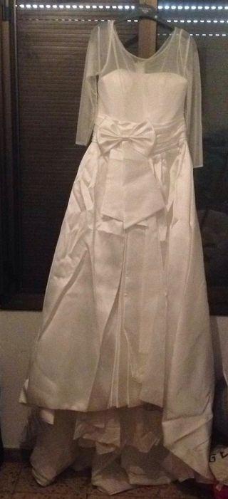Vestido de novia de la diseñadora Sara Blanco