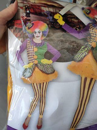 disfraz payasa/ joker