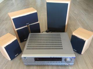 OFERTA amplificador y altavoces VIETA