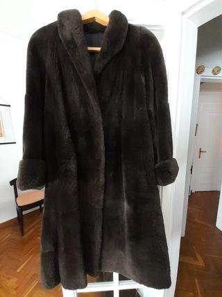 Abrigo piel de Nutria auténtica