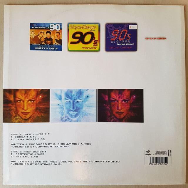 Disco vinilo New Limit & High Density EP