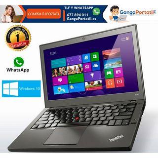 Portátil Lenovo ultrabook X260, i5/8Gb/256Gb SSD/