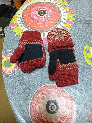 guantes dedos y manopla