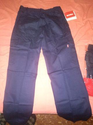 Pantalones de trabajo Velilla azul oscuro Talla 42