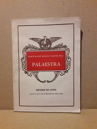 Palaestra. Método de latín. Libro