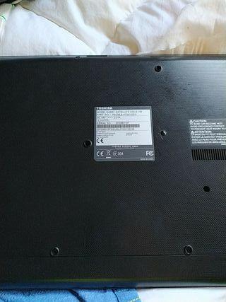 pc portátil Toshiba