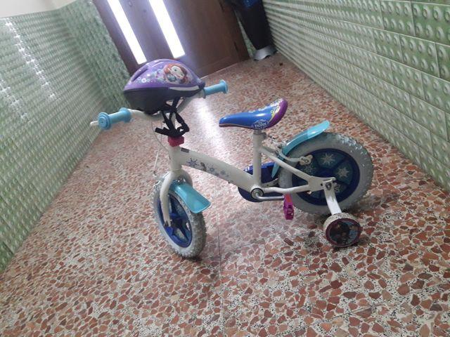 bici niña froozen