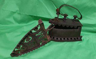 Plancha y base hierro