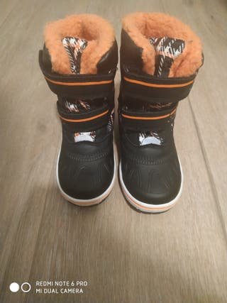 botas nieve para niño talla 25 -26