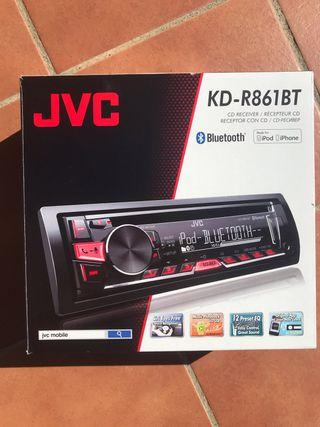 Radio coche JVC