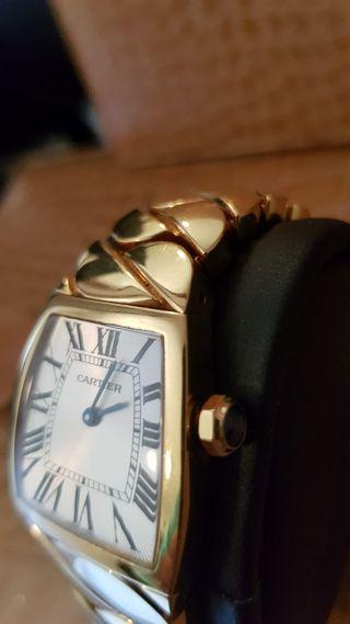 Reloj cartier unisex oro macizo 200 gr bella donna