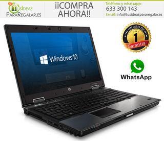 """Portátil Hp EliteBook 8540W, 15,6"""" FullHd/i7/8Gb R"""