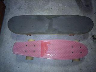 Penny y skate