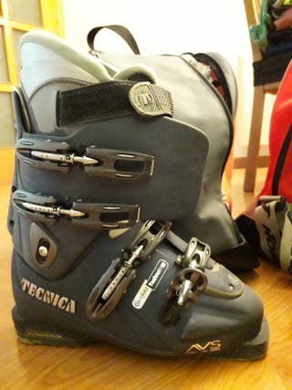 Botas esquí mujer Tecnica