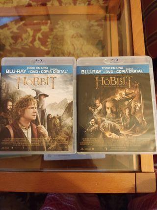 Lote El hobbit Viaje inesperado Desolación Smaug