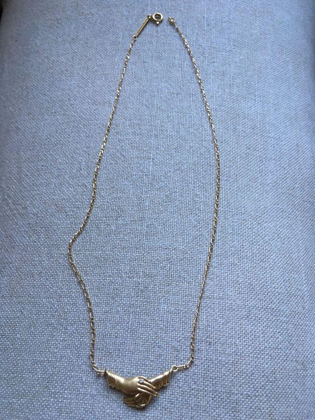 Collar oro 18 quilates.