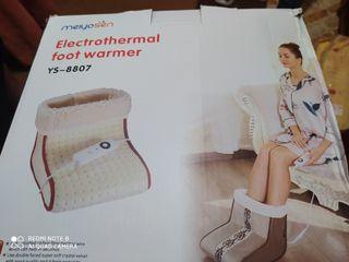 calentador de pie sin usar