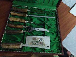Set de cuchillos de trinchar (Carving set)
