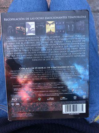 Serie completa juego de tronos (blu-ray)