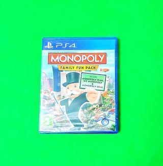 Monopoly: Family Fun Pack PRECINTADO / PS4