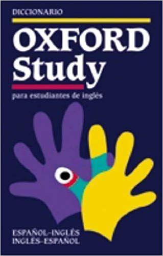 Diccionario Inglés-Español Oxford Study