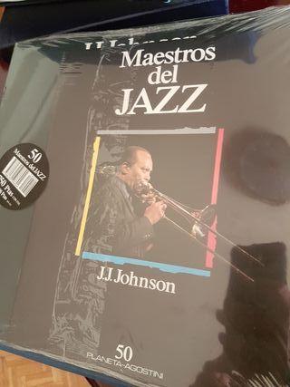 100 discos de vinilo Maestros del Jazz