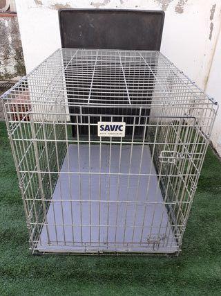 jaula para perro grande