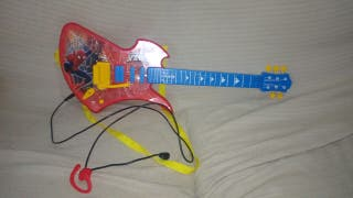 guitarra Spider-Man