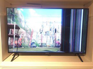 "TV samsung 49"" pantalla rota"