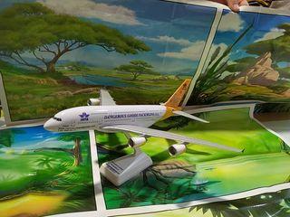 avion a escala,mercancias peligrosas