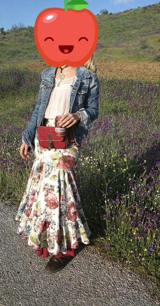 falda carreta flamenca