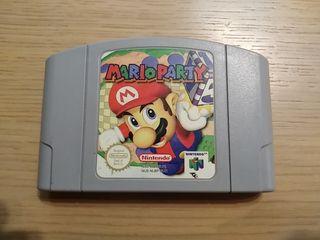N64 Mario Party Nintendo 64