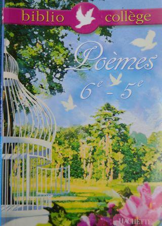 Biblio collège, Poèmes 6-5