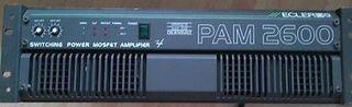 AMPLIFICADORES x2 ECLER PAM 2600 etapa x2 unidades