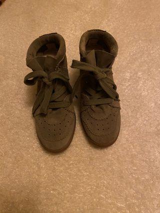Sneakers verdes ISABEL marant