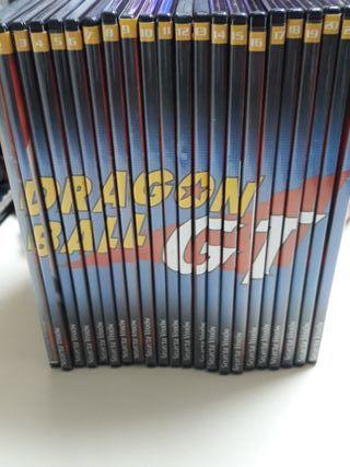 coleccion dragon ball gt 22 dvd episodios del 1-64
