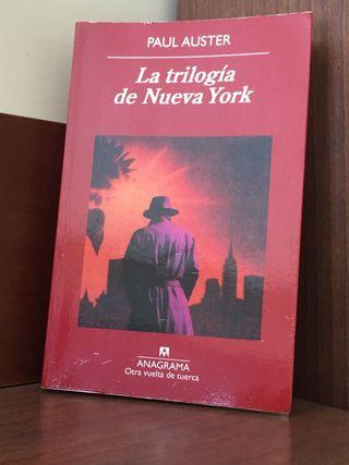 La trilogía de Nueva York de Paul Auster